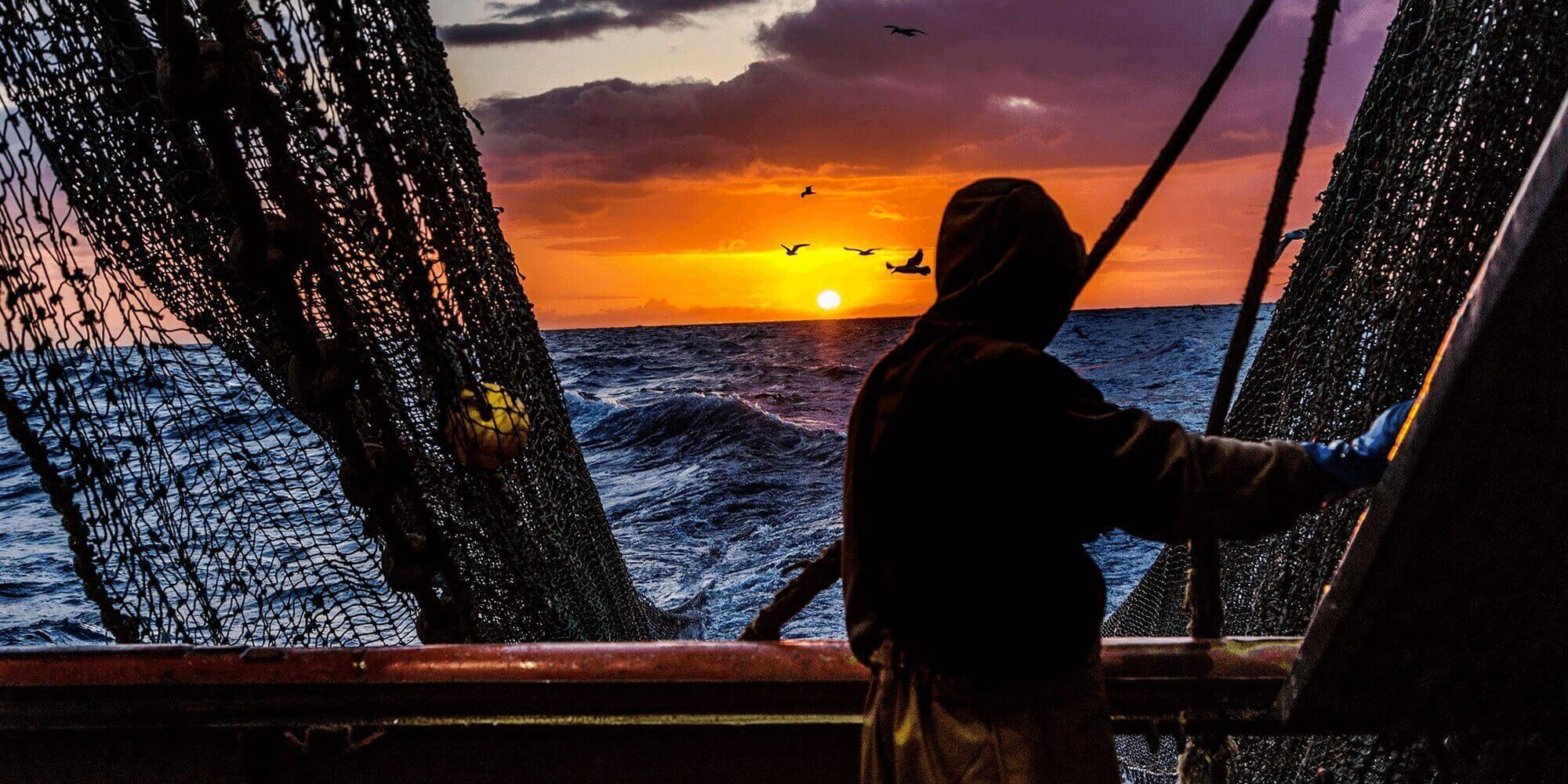 Seafarers Charity - Fisherman at Sea