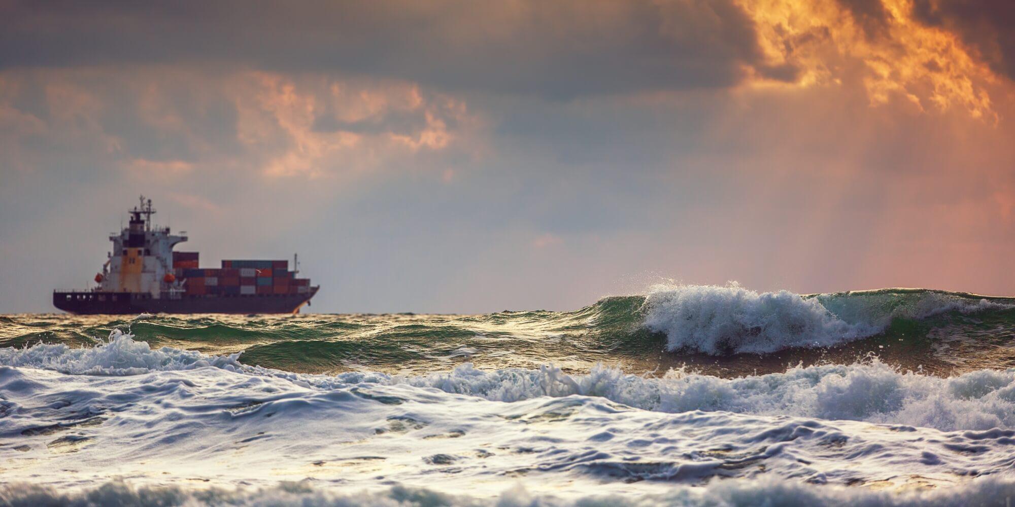Seafarers Charity - Merchant Ship At Sea