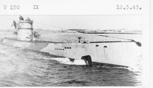 German Submarine U-130