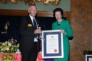 Paul-Legendre-with-HRH-Skill-Gallantry-Awards-2014
