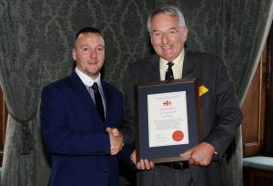Chris-MacDonald-with-Admiral-Sir-Jonathon-Band-Skill-Gallantry-Awards-2015