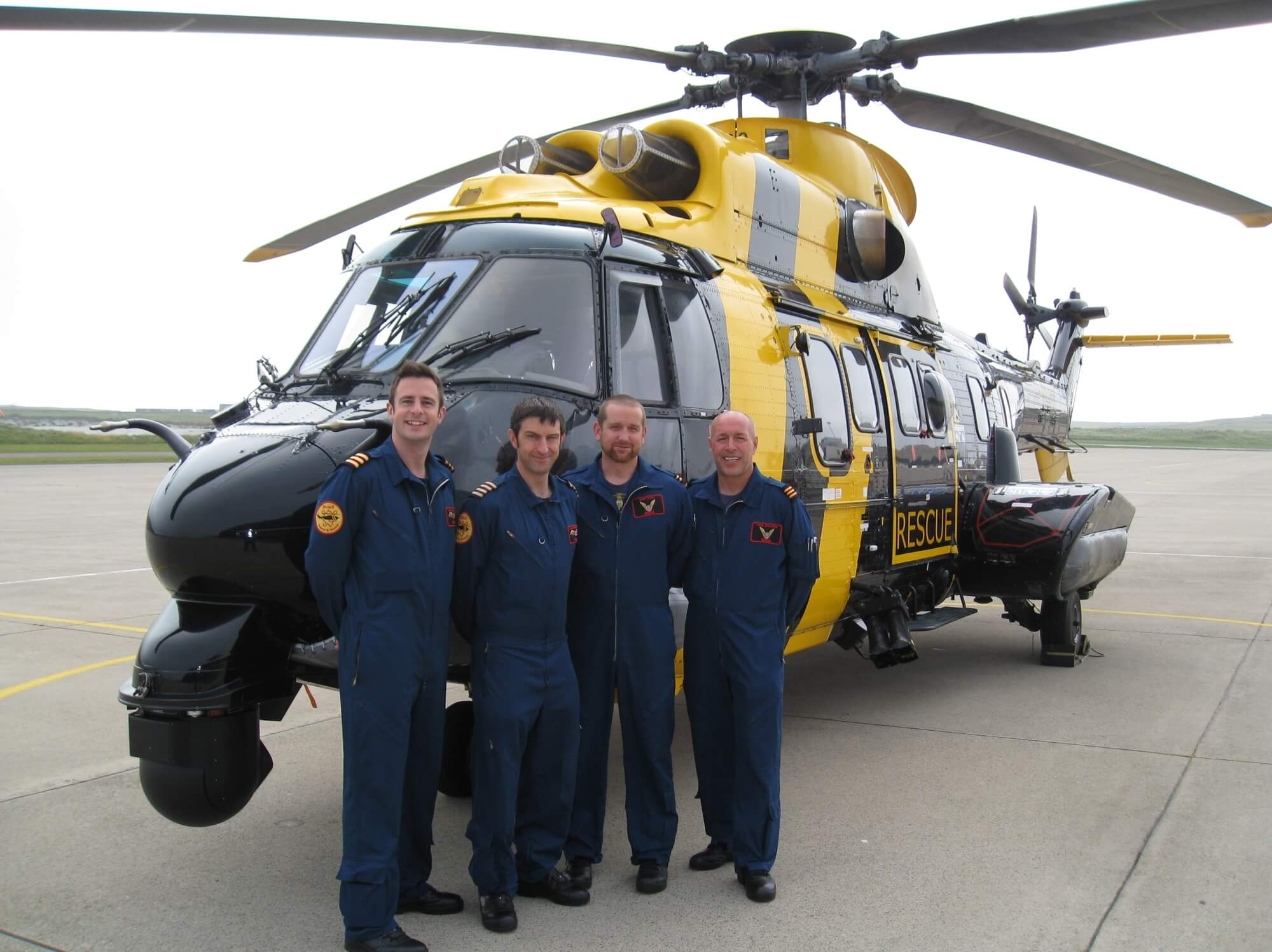 Past Skill and Gallantry Awards Helicopter