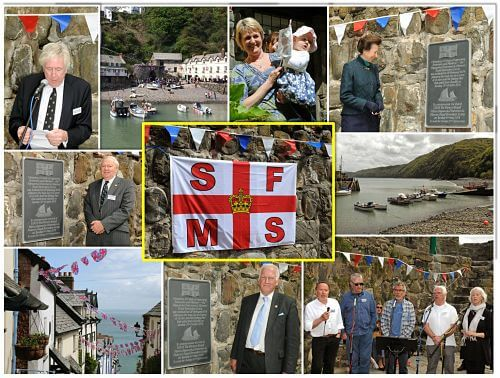 Shipwrecked Mariners Society Montage from Clovelly